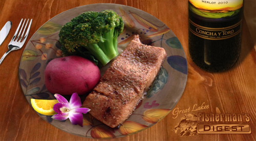 Great Lakes Fishing Recipe for Rainbow Trout