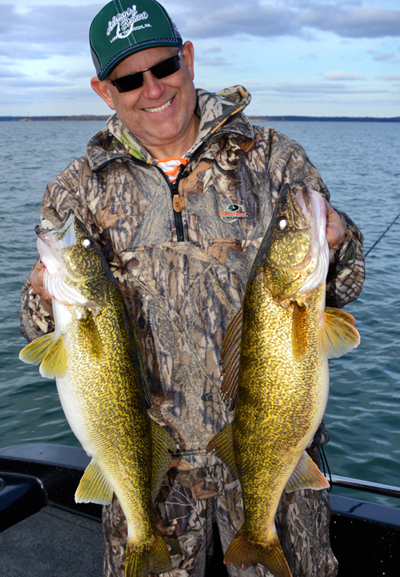 John Bergsma of Grand Rapids, MI - Your host of The Great Lakes Fisherman's Digest Television Show.